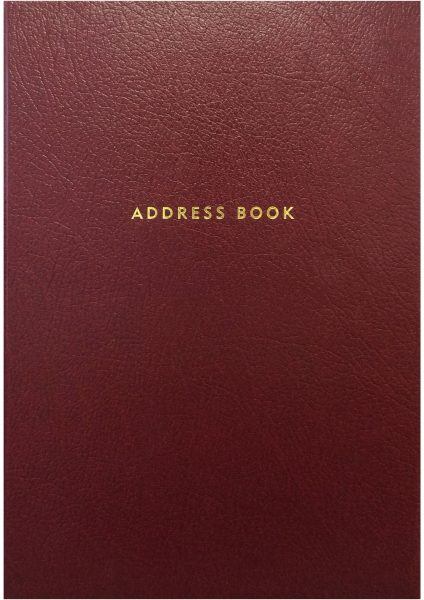 ADDRESS BOOK_RED