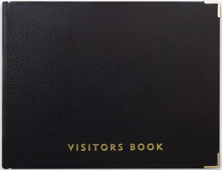 VISITOR BOOK_BLACK