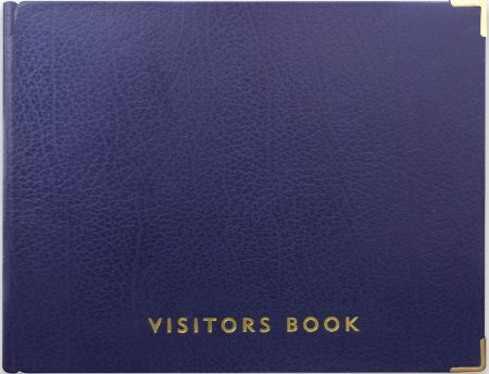 VISITOR BOOK_BLUE