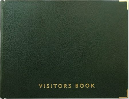 VISITOR BOOK_GREEN